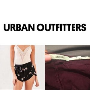 Urban Outfitters Kimichi Blue Floral Short