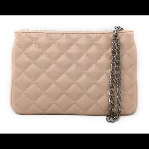 Express Clutch in Cotton Dusty Rose