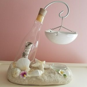 Message In A Bottle Tea Light Holder