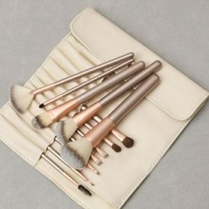 12 piece professional makeup brush set