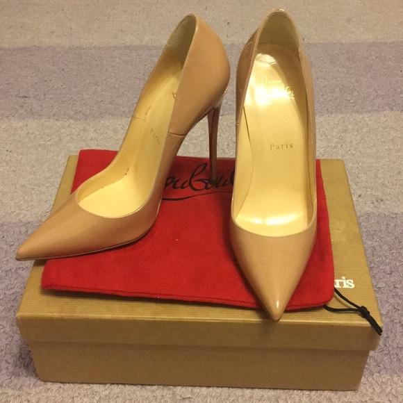 73792c70dafc Christian Louboutin Shoes - Christian Louboutins So Kate 120mm size 38