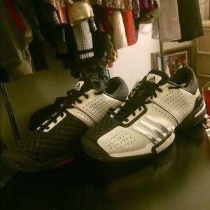 Adidas Barricade 6.0 Tennis Shoes men Size 11.5