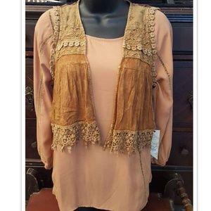 Boho Hippie/Mountain Gypsy Style Vest The Buckle