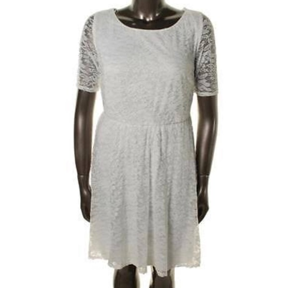 406ad8368a8 New ivory plus size lace dress