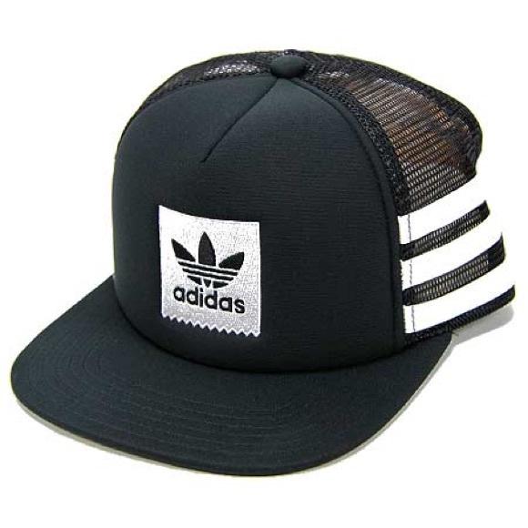 98d0f8e51ee Adidas Originals Trefoil Foam Trucker Snapback Hat