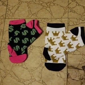 Accessories - Fun Socks! 👟💵💲👑👸🔥👀🤳👭💖💑