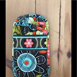 Vera Bradley double eyeglass case. Flower Shower,