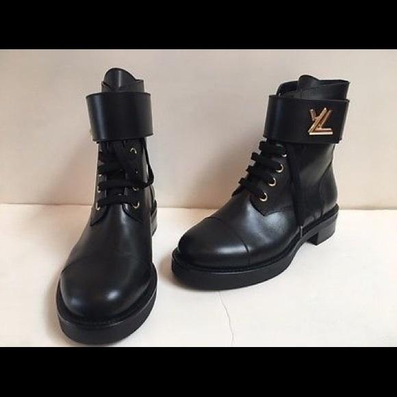 Lv Wonderland Flat Ranger Boots | Poshmark