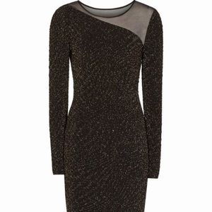 Reiss Dresses - HOST PICK! Reiss | Verona Metallic Bodycon Dress