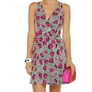 NWOT! DVF Faux Wrap Oblixe Dress- Small!