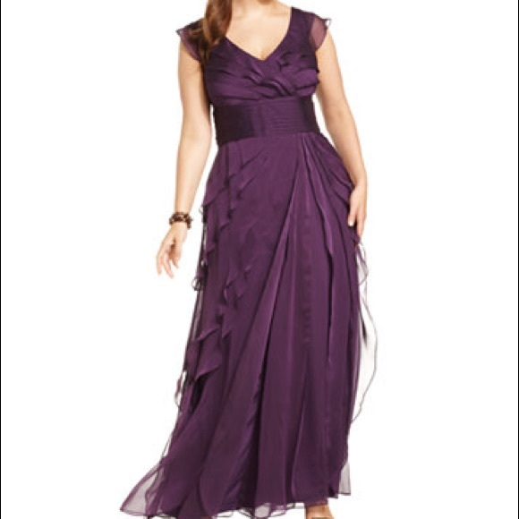 Adrianna Papell Purple Dresses Only
