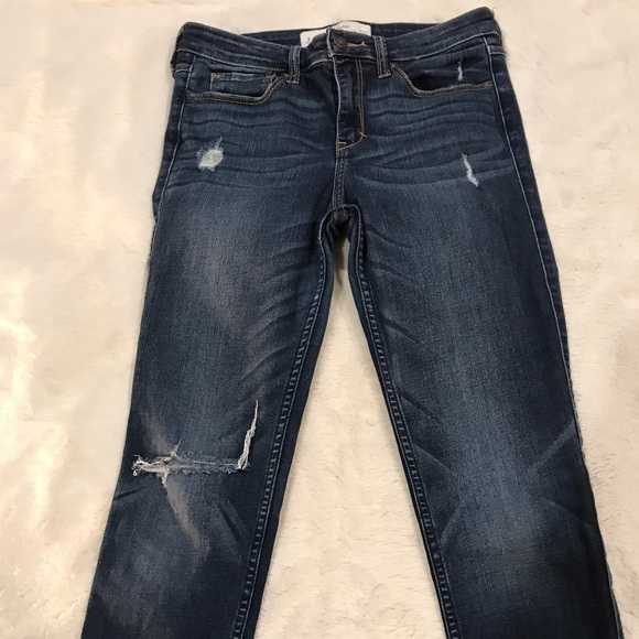 Abercrombie & Fitch Denim - Abercrombie and Fitch distressed skinny jeans