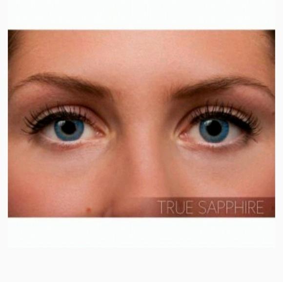 fresh look makeup freshlook contacts ture sapphire color poshmark