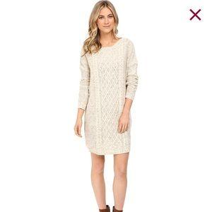 946c0c6177d Jack by BB Dakota Dresses - Heather cream cable knit sweater dress