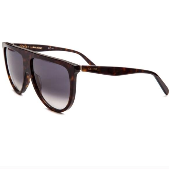 62ea55579a3 Celine Accessories - Celine Havana flat top tortoise shadow sunglasses