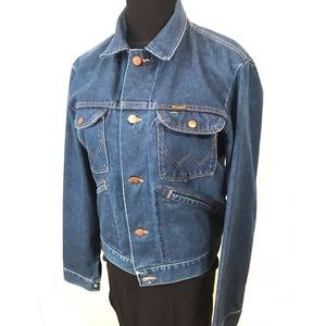 Vintage Denim Wrangler Jacket