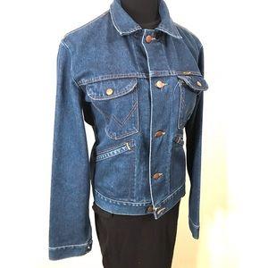 Vintage Jackets & Coats - Vintage Denim Wrangler Jacket