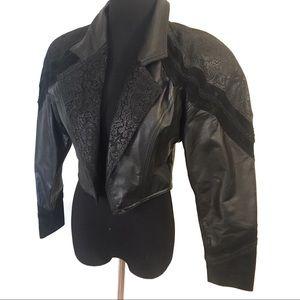 Vintage 80's leather jacket