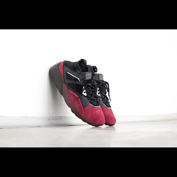 4acb5c29ce29 Puma Blaze Of Glory Sock - Black Burgundy. M 59b3e733ea3f36a5fd068e52