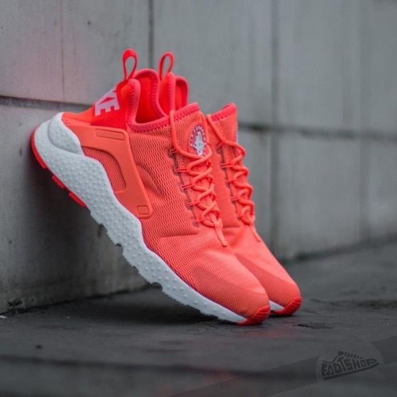 New Nike Air Huarache Run Ultra Orange