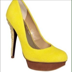 Rachel Roy Yellow Pumps