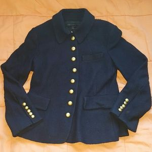 Marc by Marc Jacobs navy wool jacket