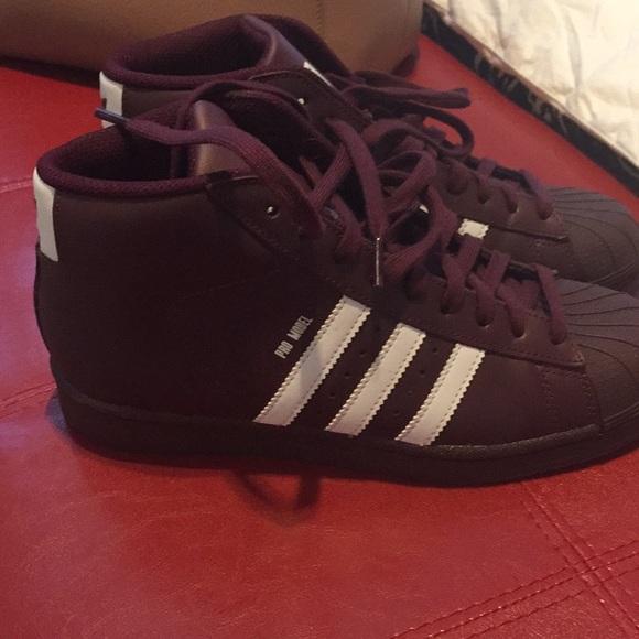adidas Shoes - Adidas high top shell tops 4306eba019