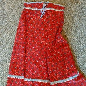 Dresses & Skirts - Vintage gunnysack style skirt