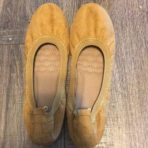Mustard Yellow Ballet Flats