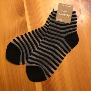 Madewell ankle socks NWT