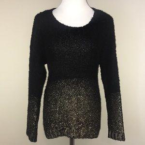 Sweaters - EUC Ombré Gold & Black Sweater 💛🖤