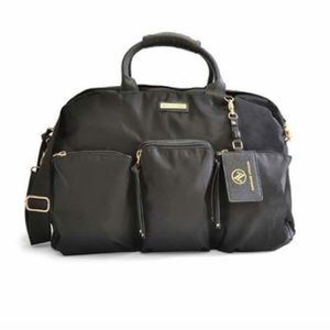 New Adrienne Vittadini duffle travel weekender bag