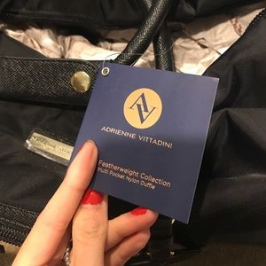 Adrienne Vittadini Bags - New Adrienne Vittadini duffle travel weekender bag