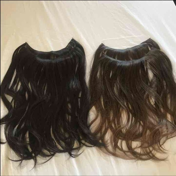 Other Halo Hair Extensions Sally Brand Poshmark