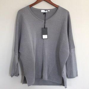 8bdbf3cb61f5 Boheme Sweaters - Boheme Urban grey ribbed sweater