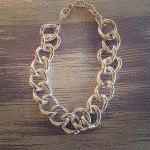 Jewelry - Silver chunky chain link necklace