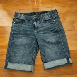 White House Black Market Denim Shorts