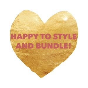 Other - ❤️Happy to style you and bundle! ❤️