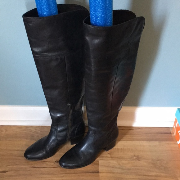 142d778bdc5 Frye Shoes - Frye Clara OTK Black Boots