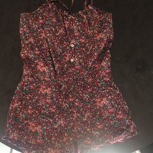 Floral romper from Madewell