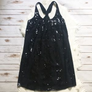 Juicy Couture Silk Sequined Dress