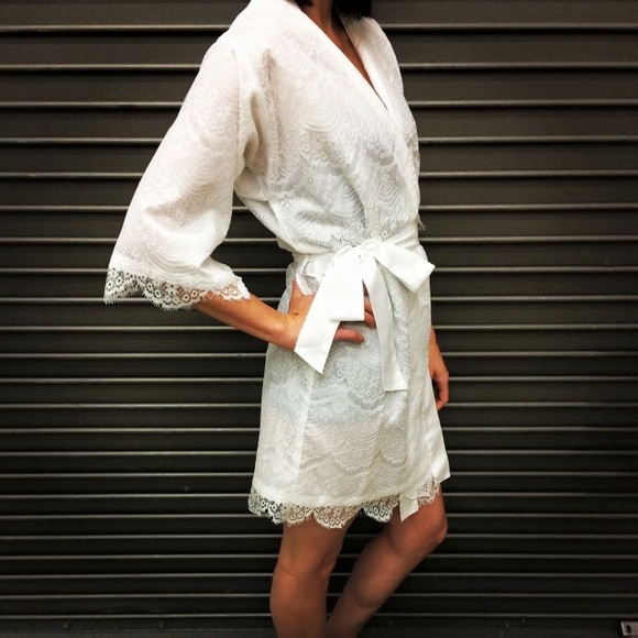 Other - Bridal Lace Robe