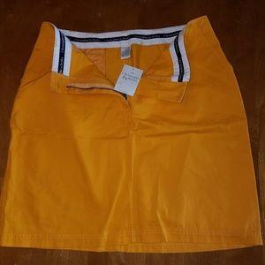 Christopher & Banks cotton skirt