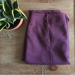 Dresses & Skirts - Burgundy Pencil Skirt