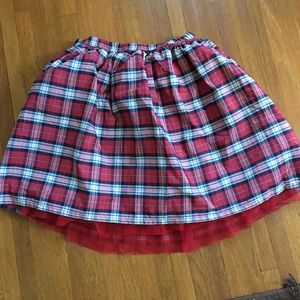 Lands end girls skirt. The holidays are coming!