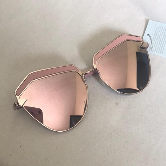 7b3f95c14d9 NEW Karen Walker Jacinto sunglasses rose gold pink