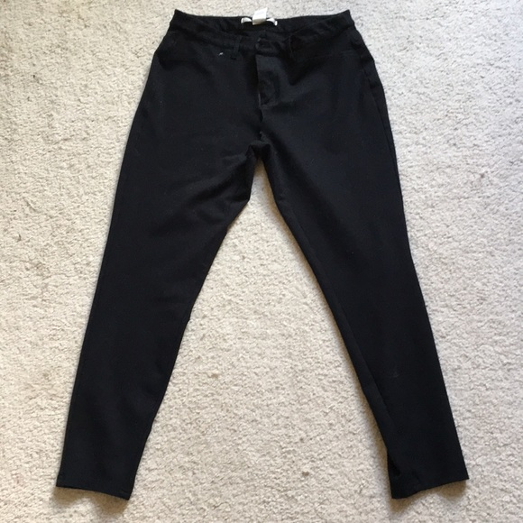 704acfdf9d0f89 LC Lauren Conrad Pants | Lauren Conrad Black Leggings With Pockets ...