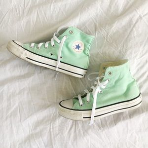 Mint High-top Converse