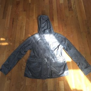 Gap utility jacket with hood