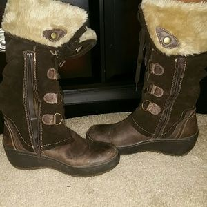 Knee high Swade Boots